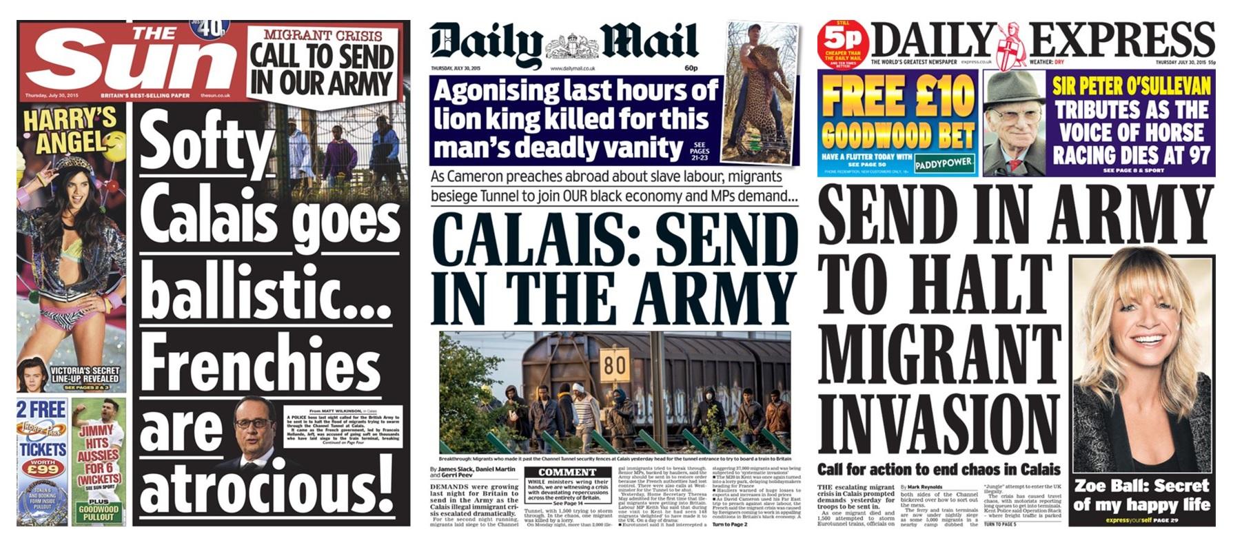refugee media coverage