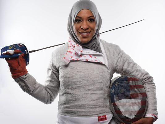 muslim fencer