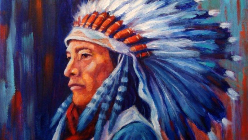 native american stereotype