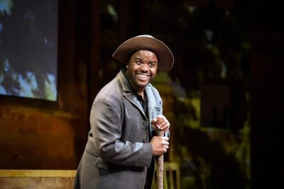 Theater review: 'The Magic Negro' gets at the pain beneath the giggles