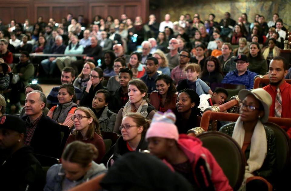 diverse audience
