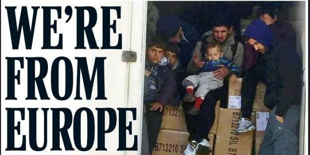daily mail migrants